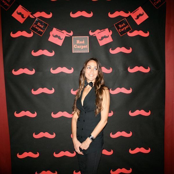 photocall moustach